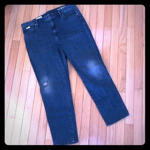 Gap size 33 high rise always skinny jeans GUC